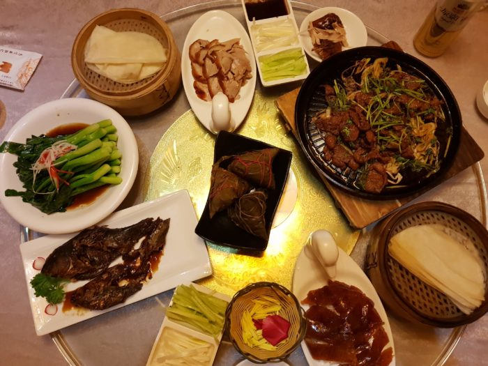 Sumptuous Dinner of Peking Duck